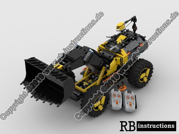 RBi Bauanleitung 42081 RC Volvo ZEUX